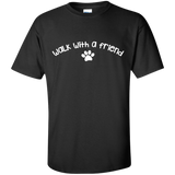Walk-with-a-friend-Custom-Ultra-Cotton-T-Shirt-Black-S-