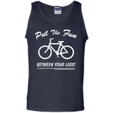 put-the-fun-between-your-legs-100%-Cotton-Tank-Top-Ash-S-
