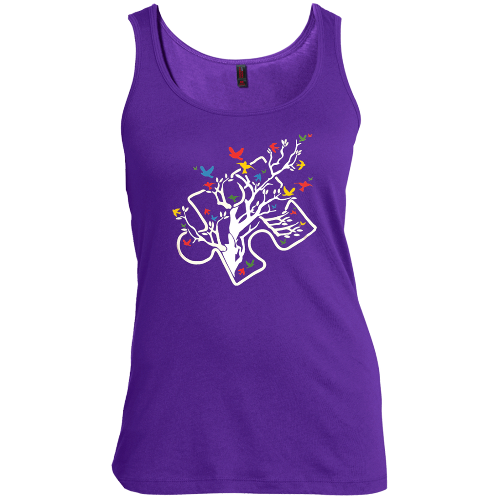 There-is-just-one-letter-difference-between-Autistic-and-Artisti---Tank-top,-Women's-tank-top-100%-Cotton-Tank-Top-Black-S
