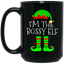 I'm-The-Bossy-Elf-Matching-Family-Group-Christmas-Black-mugs-BM11OZ-11-oz.-Black-Mug-Black-One-Size