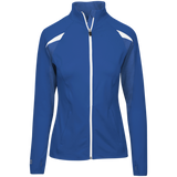[TeeEver]-Ladies'-Performance-Warm-Up-Jacket---No-Prints-J-Navy/Navy-Heather-S-