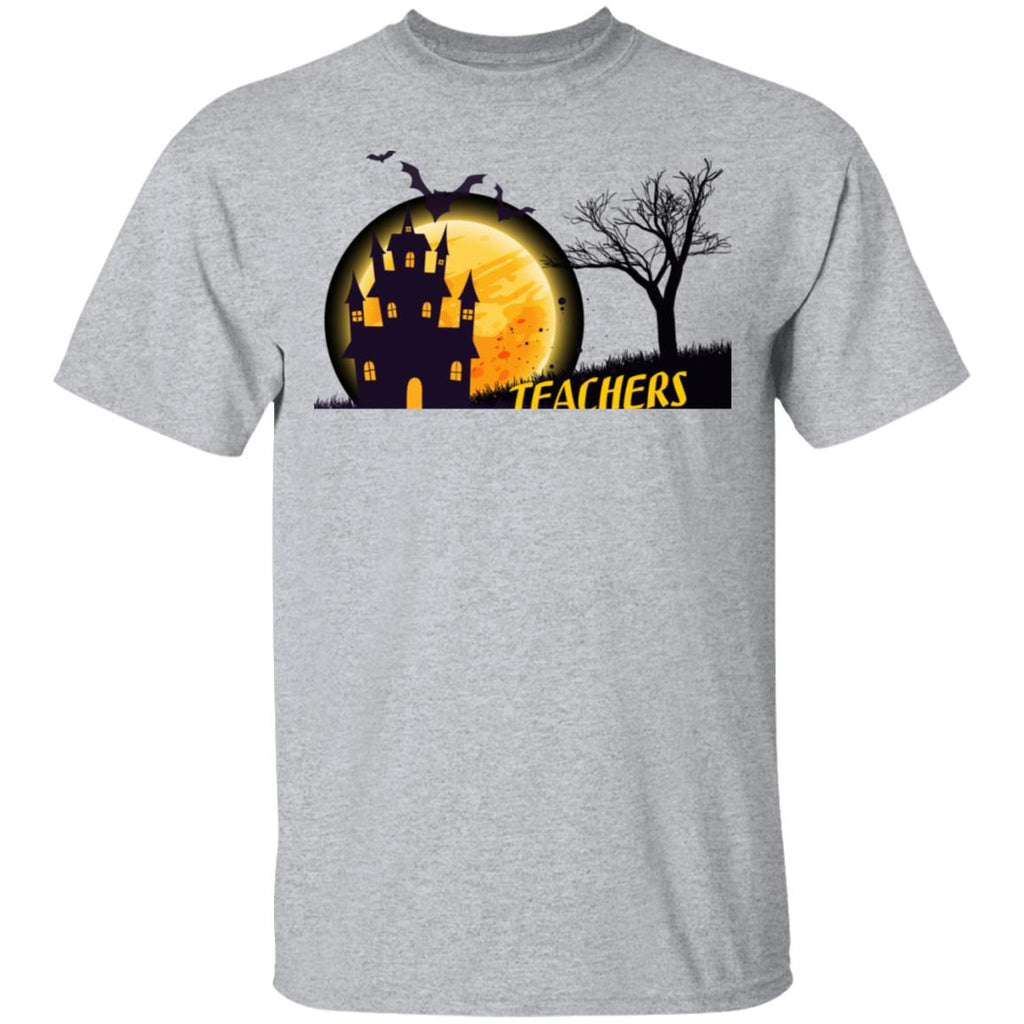 Teachers Love Brains Halloween T Shirt T-Shirt
