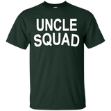 Men's-Uncle-Squad-Shirt--Uncle-Team---Men/Women-T-Shirt-Custom-Ultra-Cotton-T-Shirt-Black-S