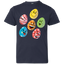 Easter-Emoji-Cute-Eggs-Faces-Happy-Easter-Day-Funny-Youth-Jersey-Tee---Teeever.com-Black-YXS-