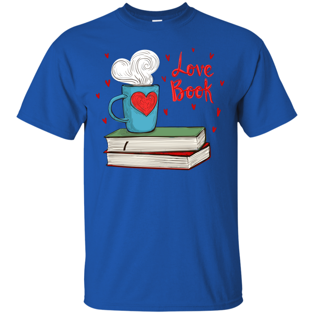 Book---Book-Reading-Lover---Men/Women-T-Shirt-Custom-Ultra-Cotton-T-Shirt-Black-S