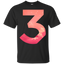 chance the rapper, chance 3 love - Men/Women T-Shirt