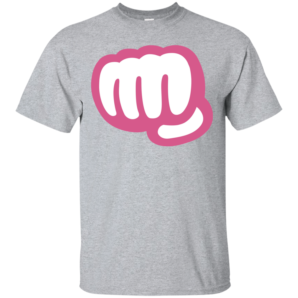 Funny-punch-T-shirt-Sport-Grey-S-