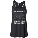 Chemistry---Funny-Science-Student-Chemist-Humor-Men/Women-Tank-top-B8800-Bella-+-Canvas-Flowy-Racerback-Tank-Black-X-Small
