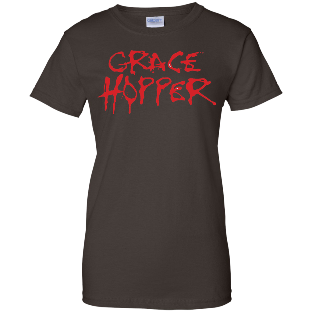 Grace-Hopper---Men/Women-T-Shirt-Custom-Ultra-Cotton-T-Shirt-Black-S