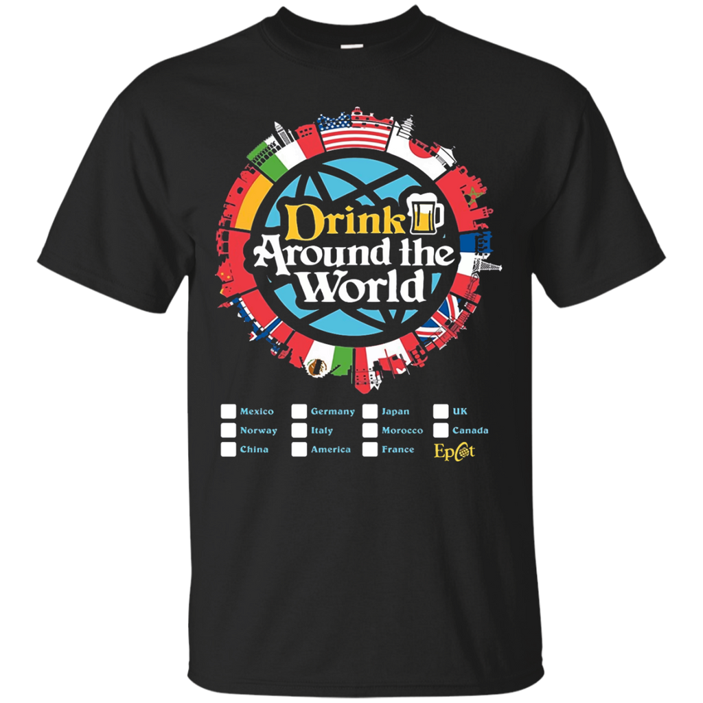 Drinking-Around-The-World-Epcot-T-Shirt-Black-S-