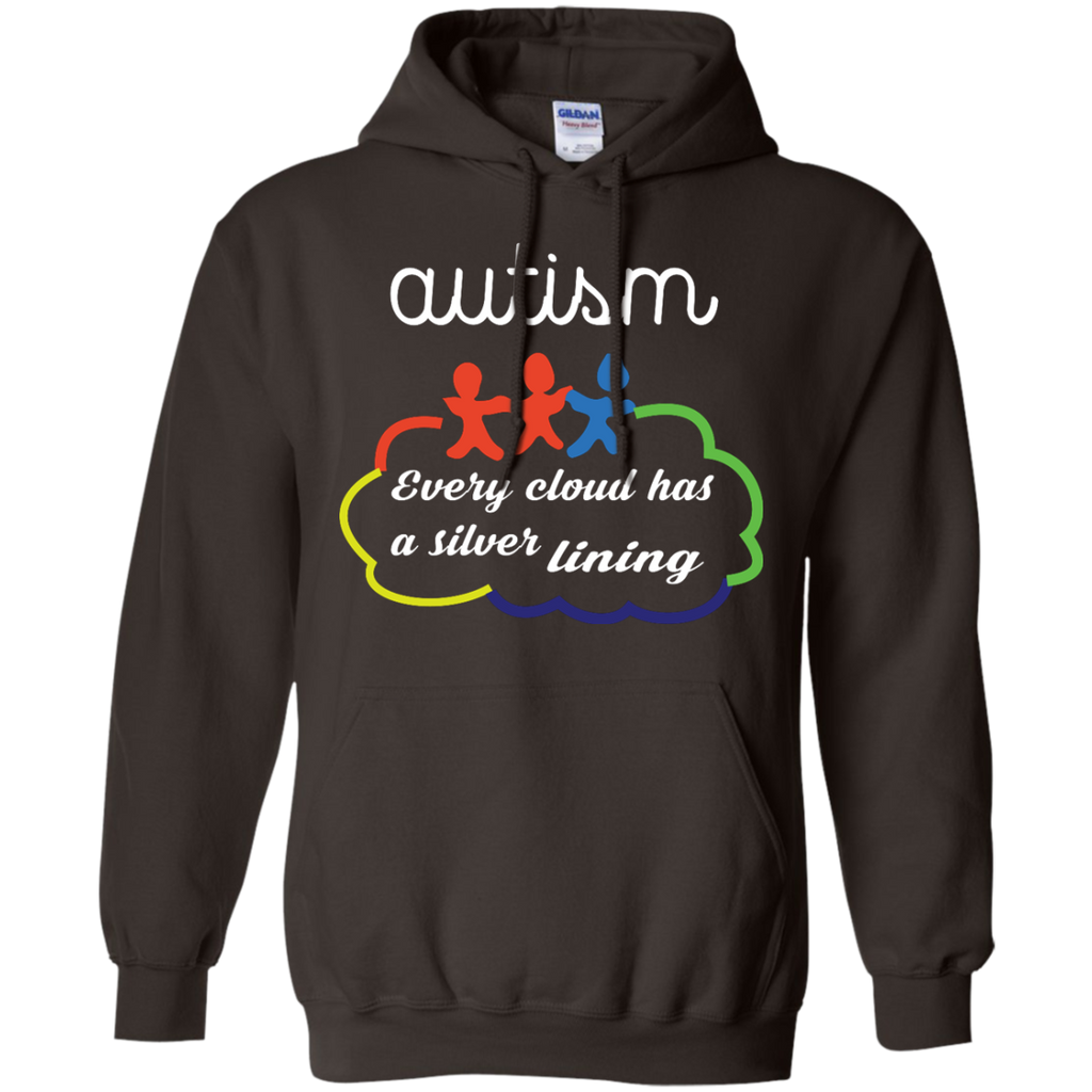 Every-Cloud-Has-a-Silver-Lining---Long-Sleeve-LS,-Sweatshirt,-Hoodie-LS-Ultra-Cotton-Tshirt-Black-S