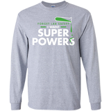 Forget-Lab-Safety-I-want-super-Pơers-LS-Ultra-Cotton-Tshirt-Sport-Grey-S-