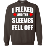 I-Flexed-And-The-Sleeves-Fell-Off-Pullover-Sweatshirt-Black-S-