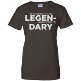 It's-Going-to-be-Legendary-Ladies-Custom-100%-Cotton-T-Shirt-Black-XS-