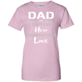 father-day-shirt-Ladies-Custom-100%-Cotton-T-Shirt-Sport-Grey-XS-