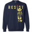 Resist-funny---Long-Sleeve-LS,-Sweatshirt,-Hoodie-LS-Ultra-Cotton-Tshirt-Black-S