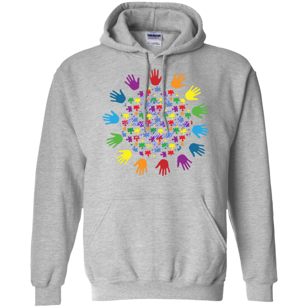 World-Autism-Awareness-2-April-2017---Long-Sleeve-LS,-Sweatshirt,-Hoodie-LS-Ultra-Cotton-Tshirt-Sport-Grey-S