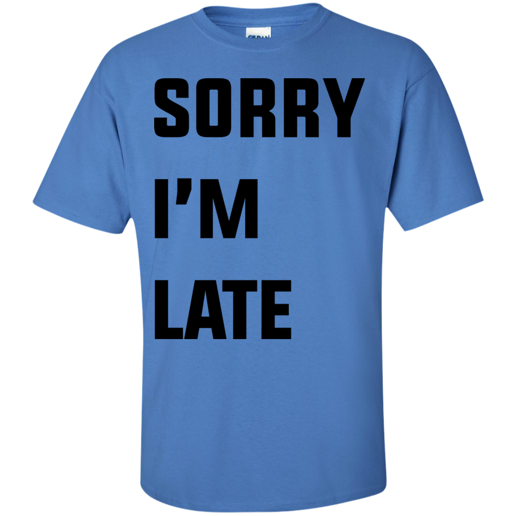 Sorry-i'm-late-T-Shirt-Ash-S-
