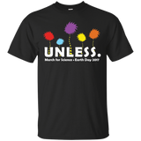Cool-Unless-March-for-Science-Earth-Day-2017---Men/Women-T-Shirt-Custom-Ultra-Cotton-T-Shirt-Black-S