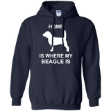 Beagle-Where-my-home-is-Pullover-Hoodie-8-oz-Black-S-