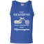 Real-grandpas-ride-Motorcycles-100%-Cotton-Tank-Top-Ash-S-