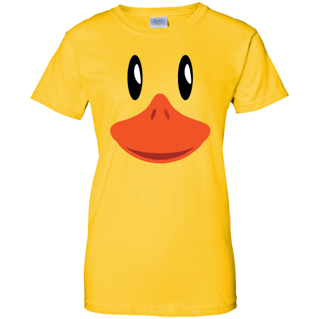Cute-Duck-Face-T-Shirt-Awesome-Halloween-Costume-Gift-Women's-T-Shirt-Sport-Grey-X-Small-