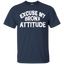 Excuse-My-Bronx-New-York-Attitude-Funny-NY---Men/Women-T-Shirt-Custom-Ultra-Cotton-T-Shirt-Black-S