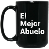 Abuelo-Grandpa-Fathers-Day-Gift-in-Spanish-Dad-Papa-Padre-BM15OZ-15-oz.-Black-Mug-Black-One-Size-