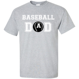 Baseball-Dad-T-Shirt-Sport-Grey-S-