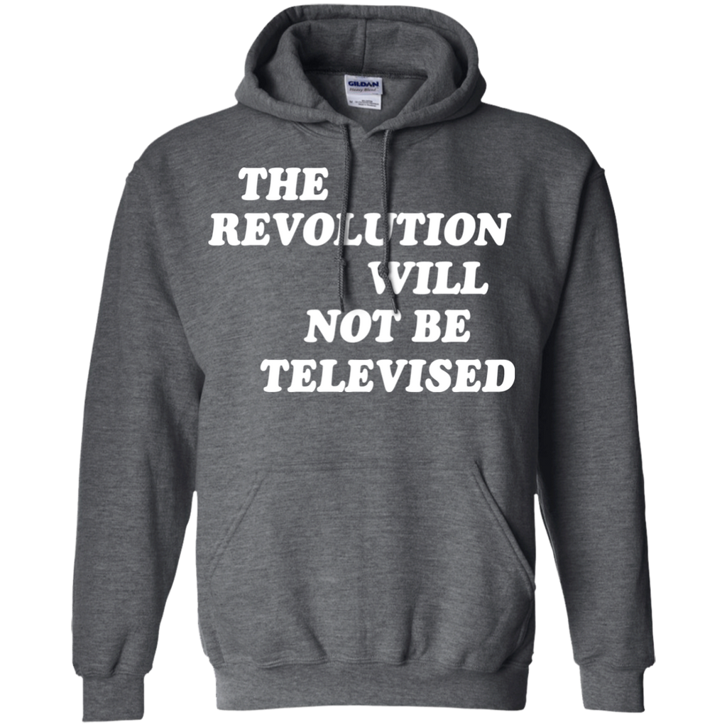 The-revolution-will-not-be-televised-Pullover-Hoodie-8-oz-Black-S-