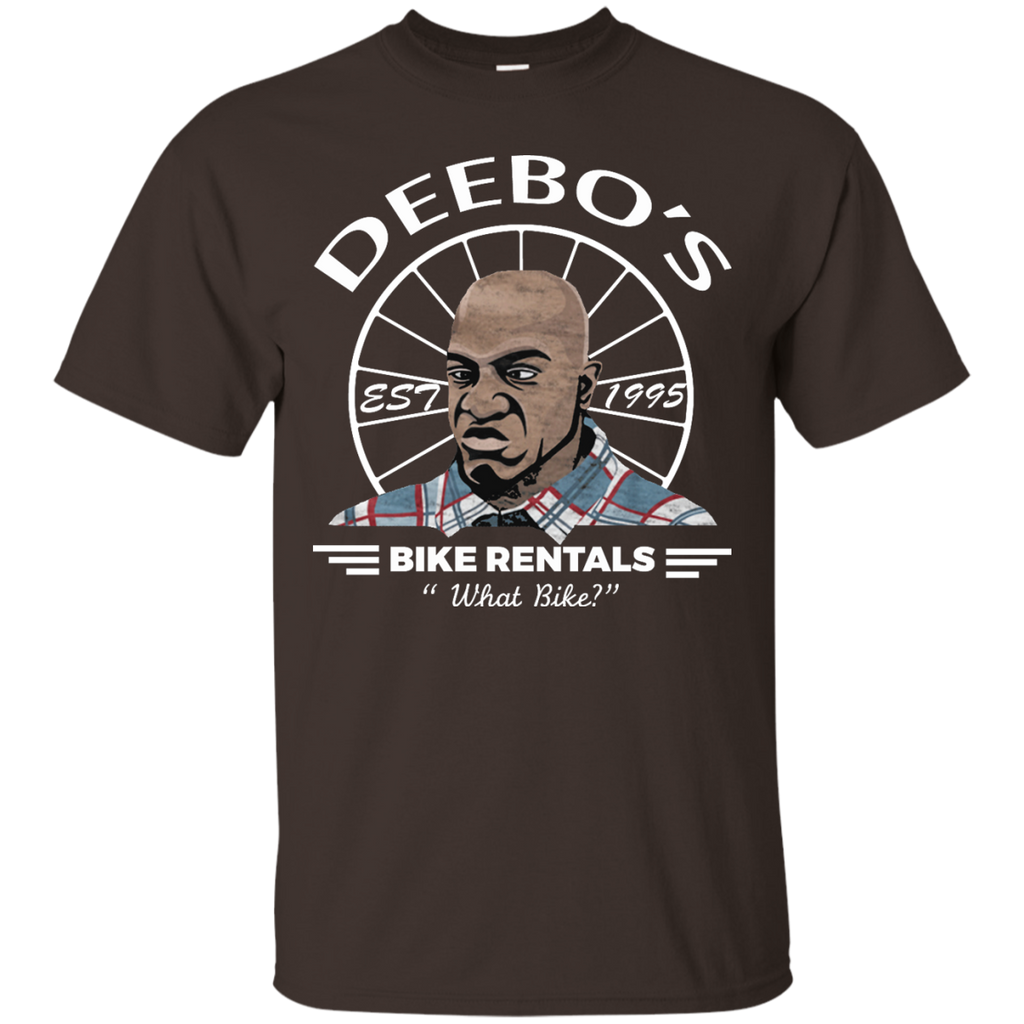 Friday-deebo-shirt-Bike-Rentals-What-Bike-T-Shirt-Black-S-