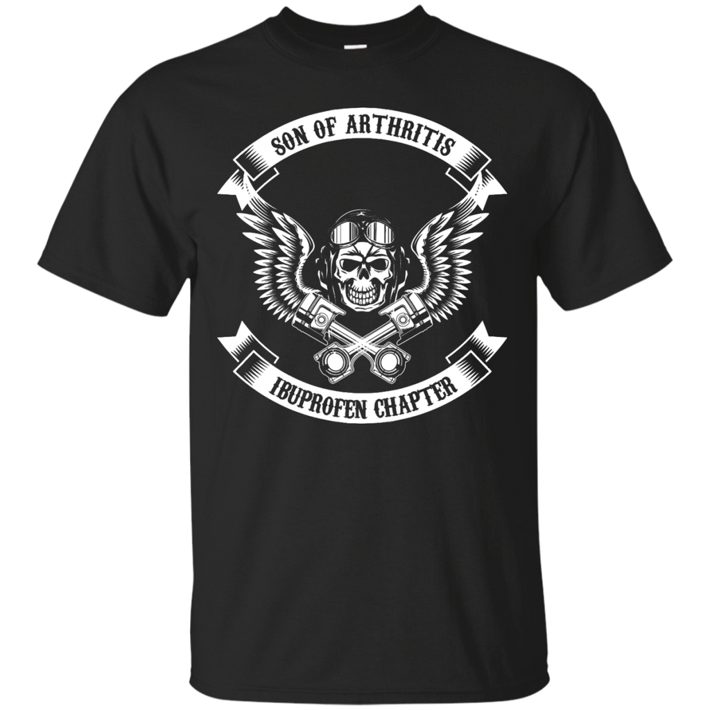 Son-of-arthritis,-ibuprofen-chapter---Motobike-T-Shirt---Teeever.com-Black-S-