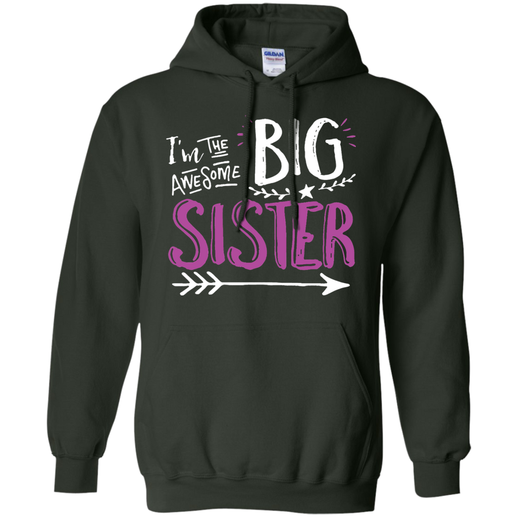 Big-Sisters-and-Little-Sister-Big-Sister-Pullover-Hoodie---Teeever.com-Black-S-