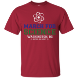 March-For-Science-Earth-Day-April-22-2017-Washington-DC---T-shirt,-ladies-tshirt-Custom-Ultra-Cotton-T-Shirt-Black-S