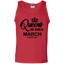 Women's-Queens-are-born-in-March---Tank-top,-Women's-tank-top-100%-Cotton-Tank-Top-Ash-S