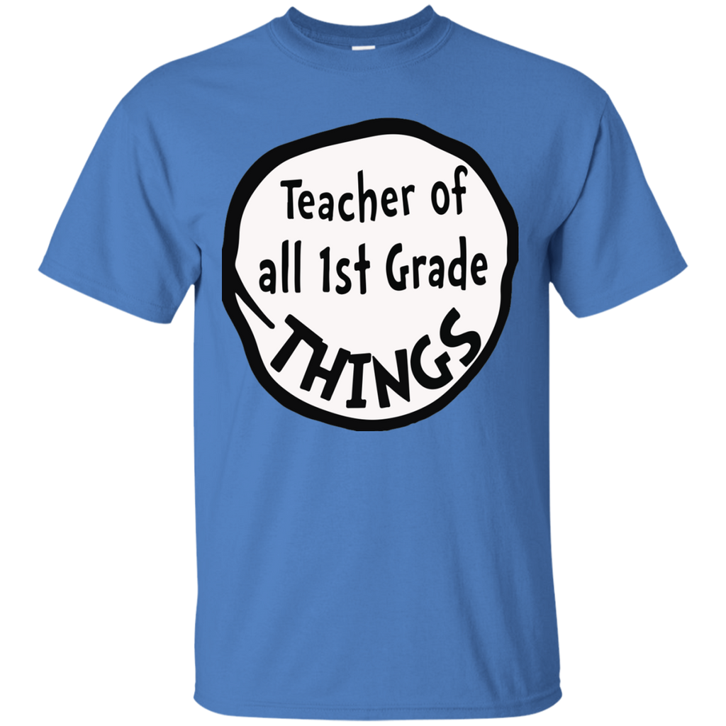 Teacher-of-all-1st-Grade-things---Men/Women-T-Shirt-Custom-Ultra-Cotton-T-Shirt-Sport-Grey-S