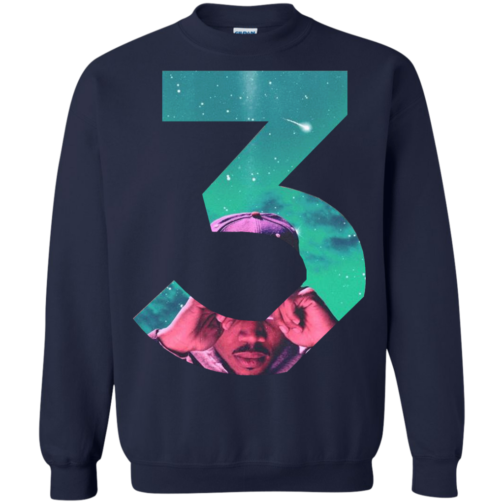 chance-rapper,-chance-3-love,-chance-the-music---LS,Hoodie,Sweatshirt---TEEEVER-LS-Ultra-Cotton-Tshirt-Black-S