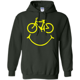 Smiley-bike-Pullover-Hoodie-8-oz-Black-S-