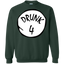 Drunk-4---St-Patrick's-day,-drink-beer-and-drunk---Long-Sleeve-LS,-Sweatshirt,-Hoodie-LS-Ultra-Cotton-Tshirt-White-S