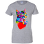 Cat-valentine's-day-Shirt-Colorful-Cute-Kitten-lovers-Women's-T-Shirt-Sport-Grey-X-Small-