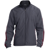 [TeeEver]-Embroidered-Colorblock-Windbreaker---No-Prints-J-Graphite/Maroon/White-XS-
