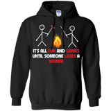 It's-All-Fun-and-Games-Until-Someone-Loses-A-Weiner-Pullover-Hoodie---Teeever.com-Black-S-