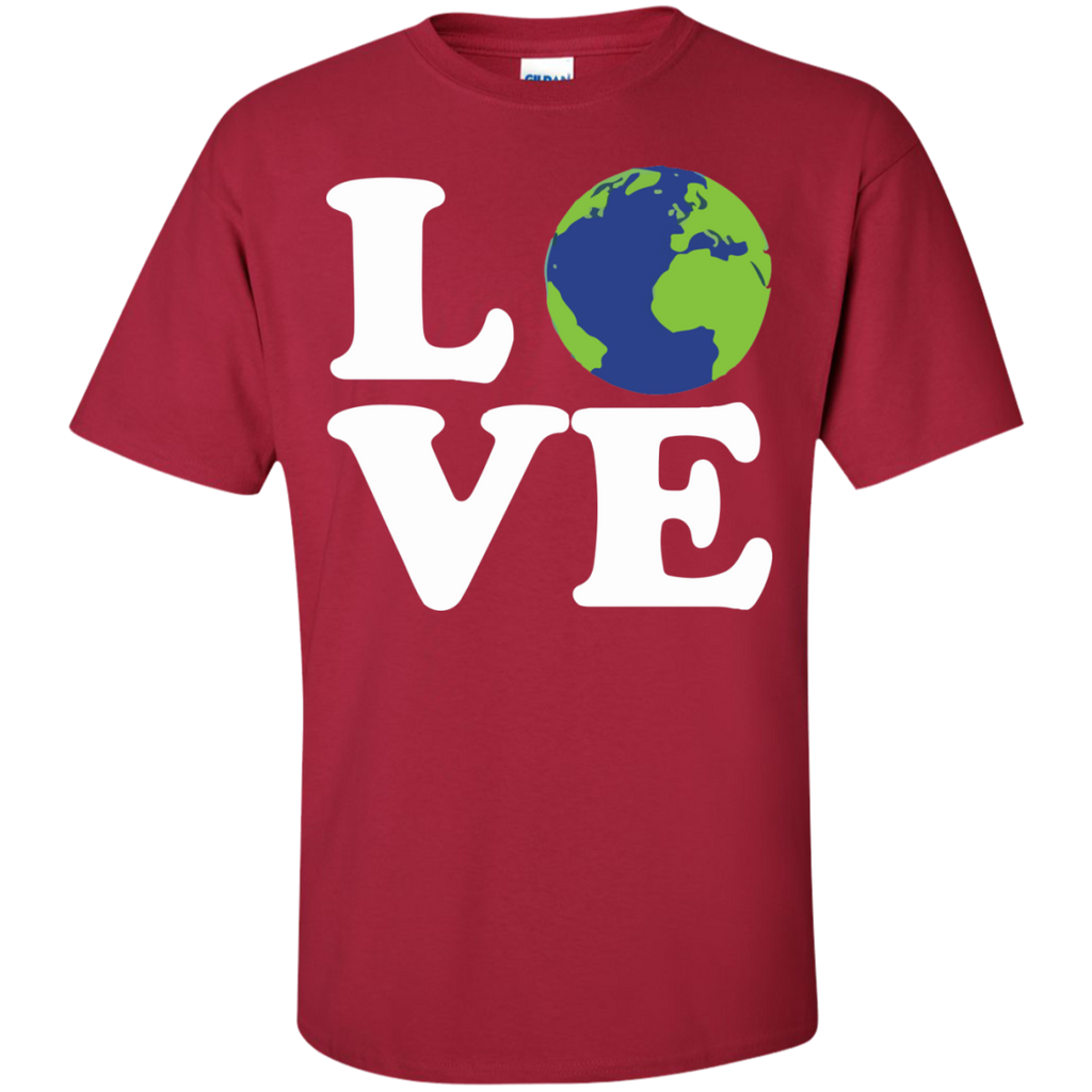LOVE-EARTH-T-Shirt-Sport-Grey-S-