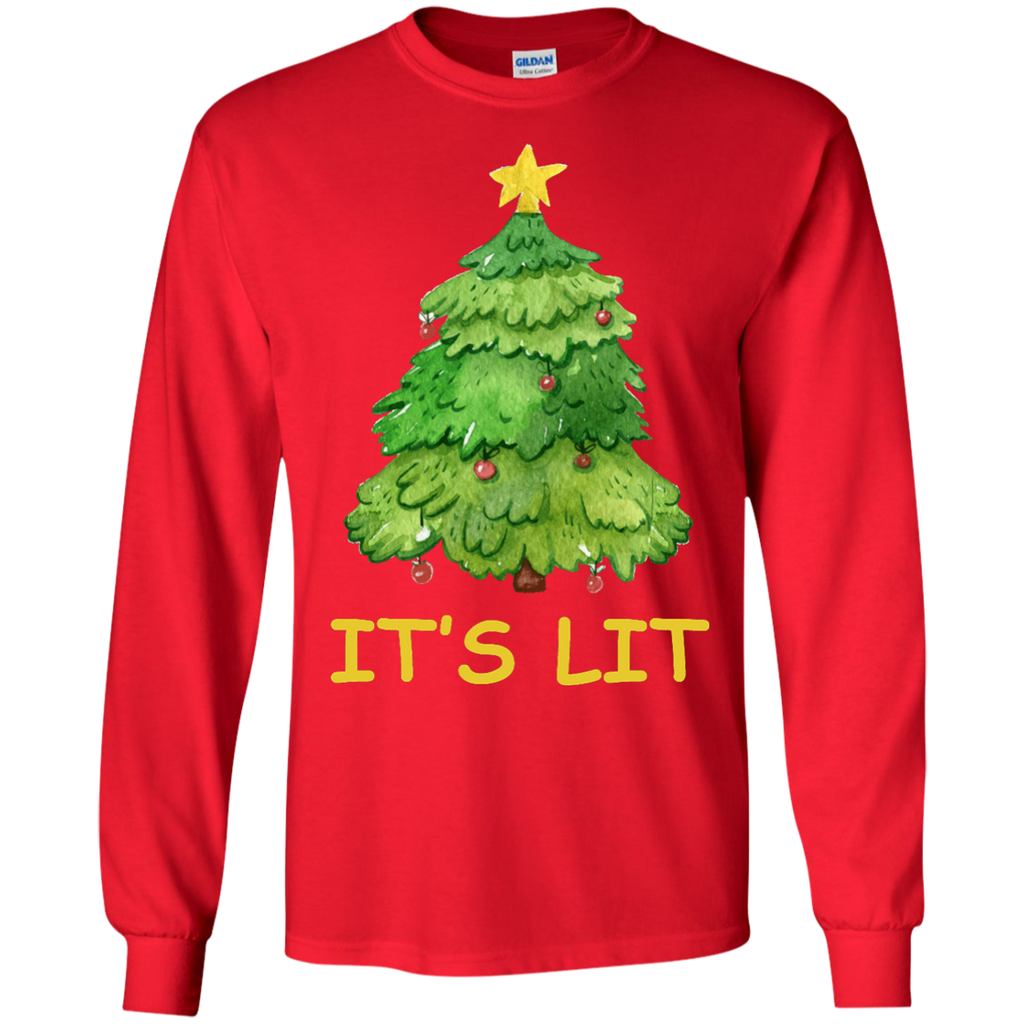 Cute-Elf-Dabbing-Christmas-Swag-LS-Tshirt-Black-S-