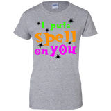 I-put-a-spell-on-you,-funny-halloween-Ladies'-T-Shirt-Sport-Grey-XS-
