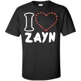 I-love-zayn-Custom-Ultra-Cotton-T-Shirt-Black-S-