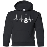 Acoustic-Guitar-Heartbeat---Guitar-Musician-YOUTH-Tshirt/LS/Sweatshirt/Hoodie-PC90Y-Port-and-Co.-Youth-Crewneck-Sweatshirt-Jet-Black-YXS