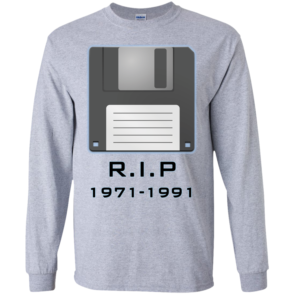Floopy-Disk-RIP-1971-1991-LS-Ultra-Cotton-Tshirt-Sport-Grey-S-