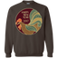 Chinese-New-Year---Happy-New-Year-2017---Rooster-Crewneck-Pullover-Sweatshirt-8-oz-Black-S-
