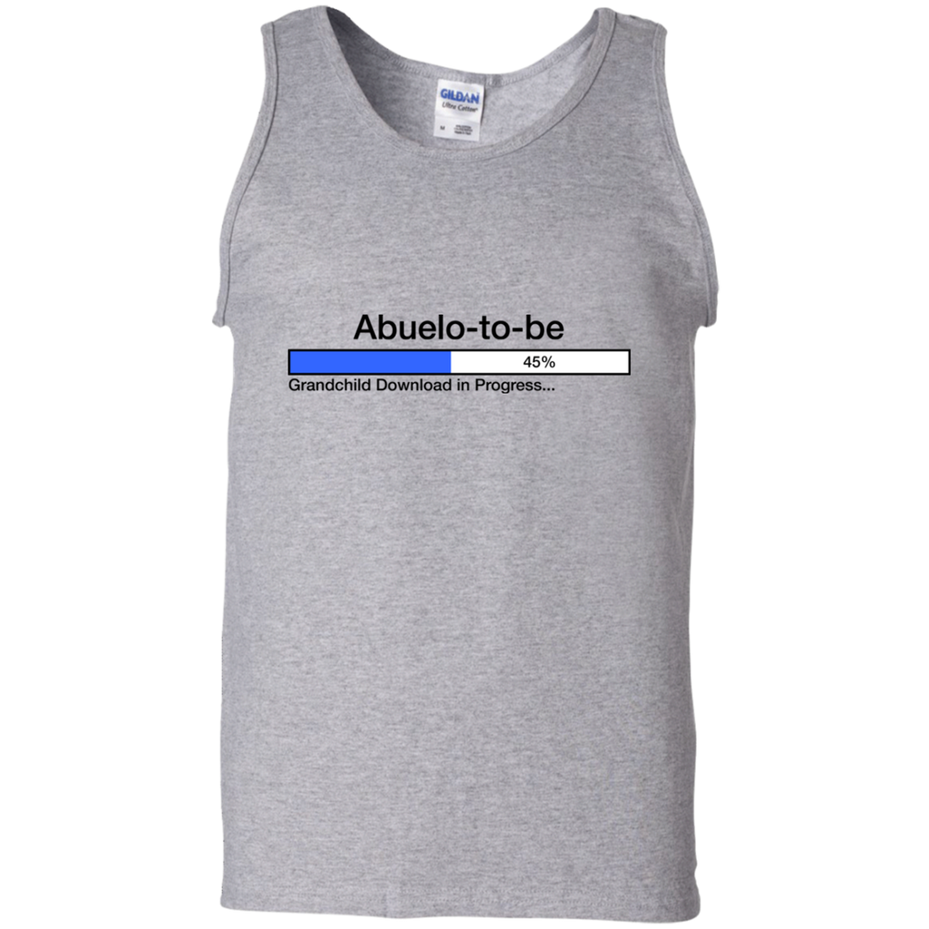 Downloading-Abuelo-to-Be-100%-Cotton-Tank-Top-Ash-S-